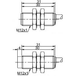 Датчик индуктивный ВКИ.М12.31К.4.У.8  NAMUR