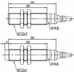 Датчик аналоговый ВКА.М18.50К.8.B